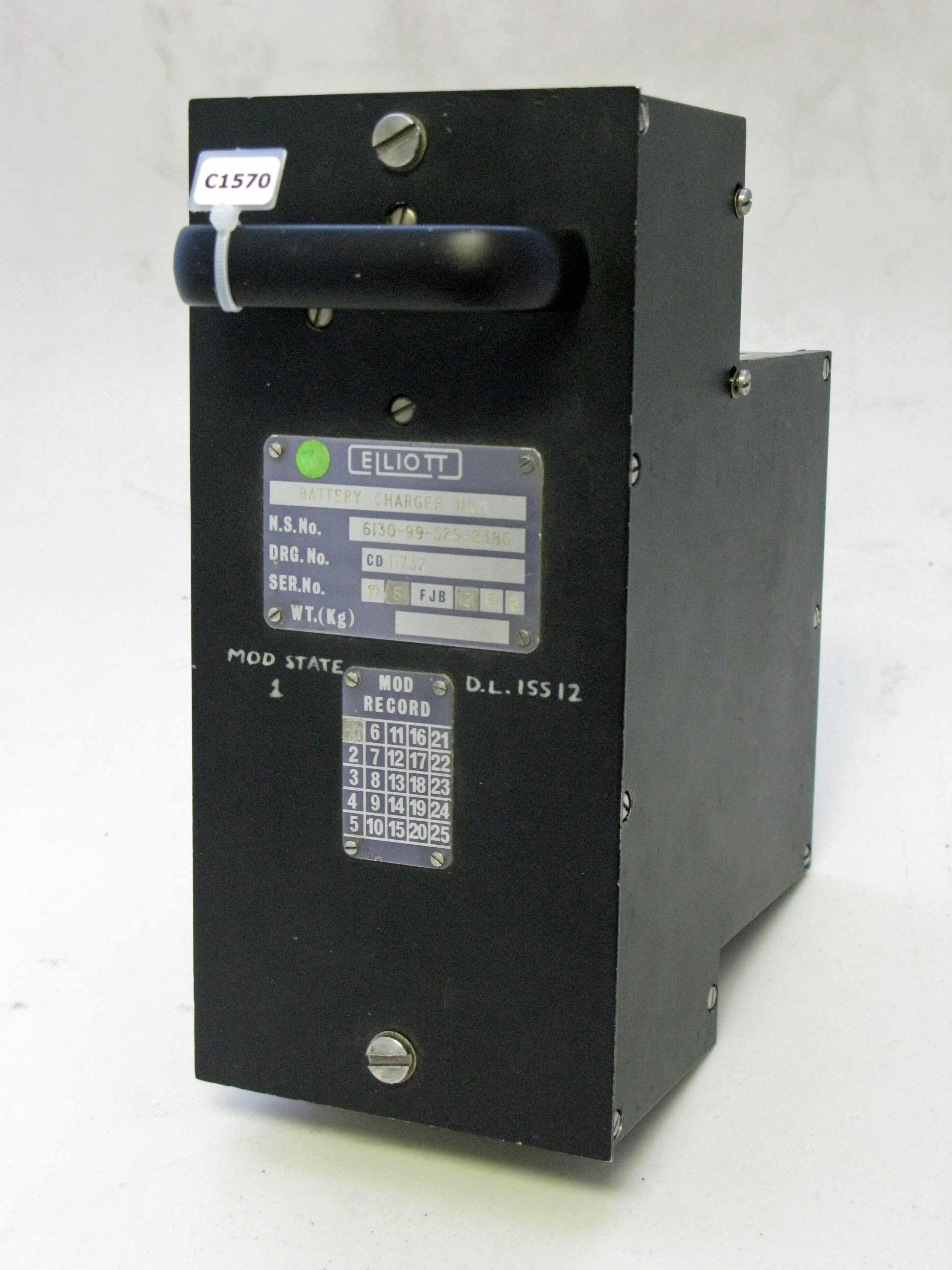 NCS1 Battery Charger Unit