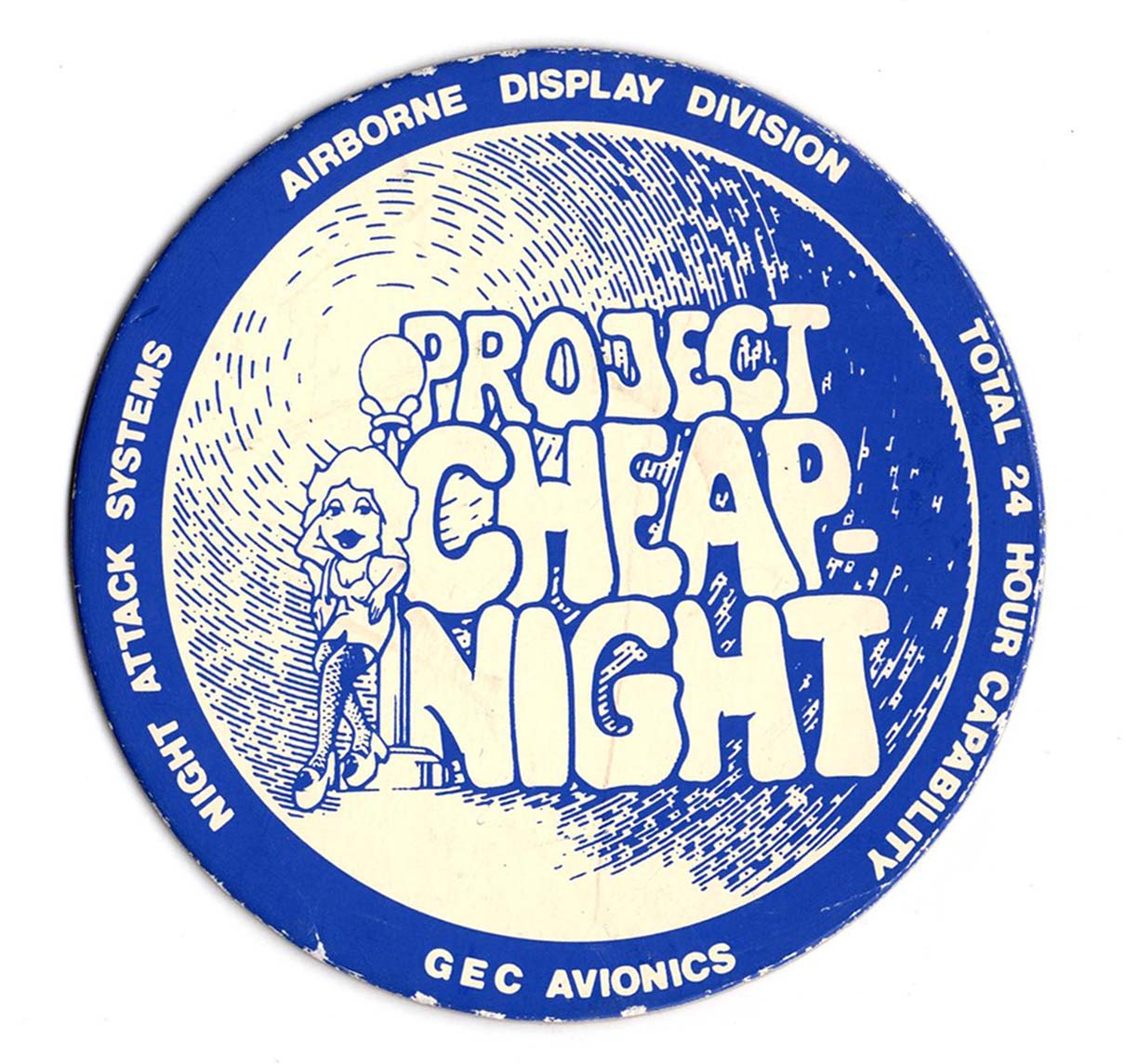 GAv 'Cheap Night' Drinks Coaster