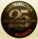 25 Years HUD Production Sticker