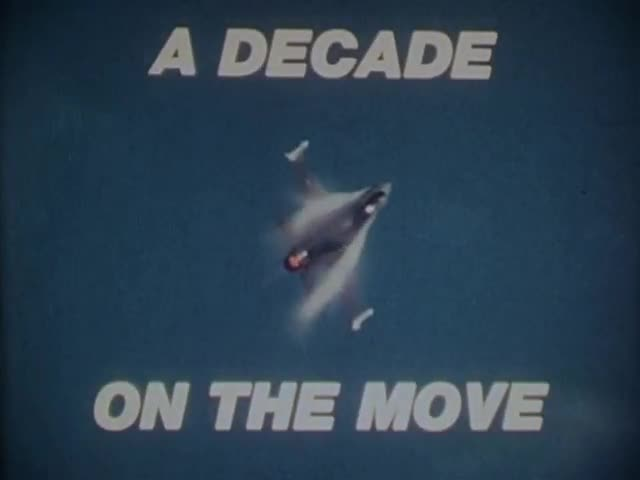 A Decade on the Move (F-16 promotion)