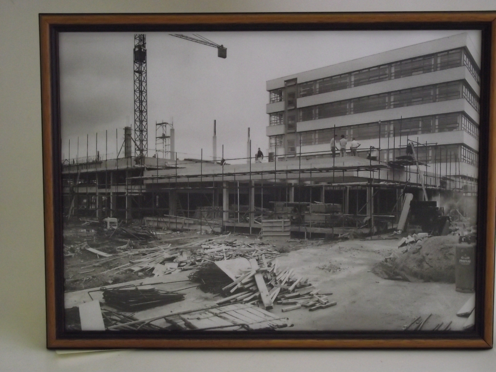 Rochester Site under construction