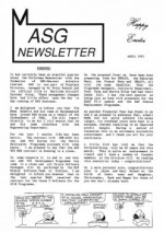 MASG Newsletter - 1993/04