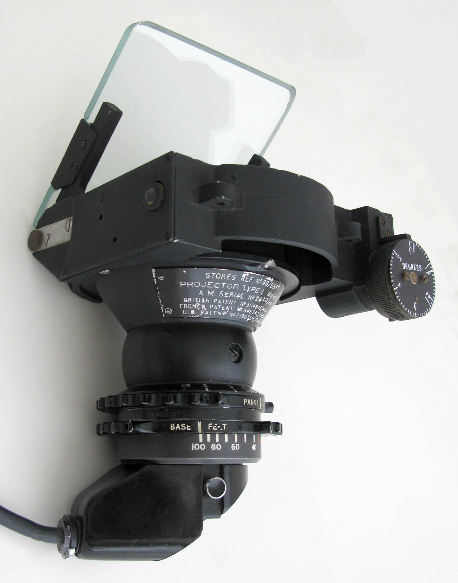 Gunsight Projector