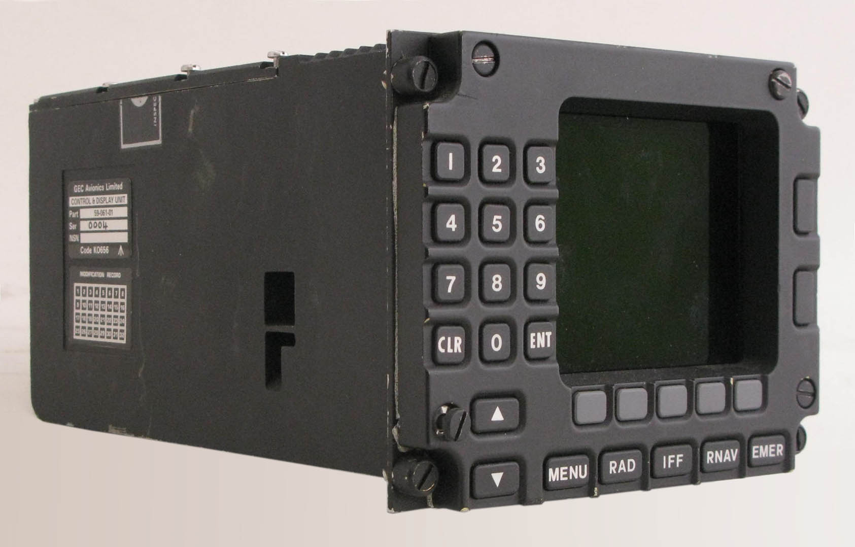 Hawk Control & Display Unit