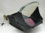 F-22 HUD Prototype Optical Module & CRT Assembly