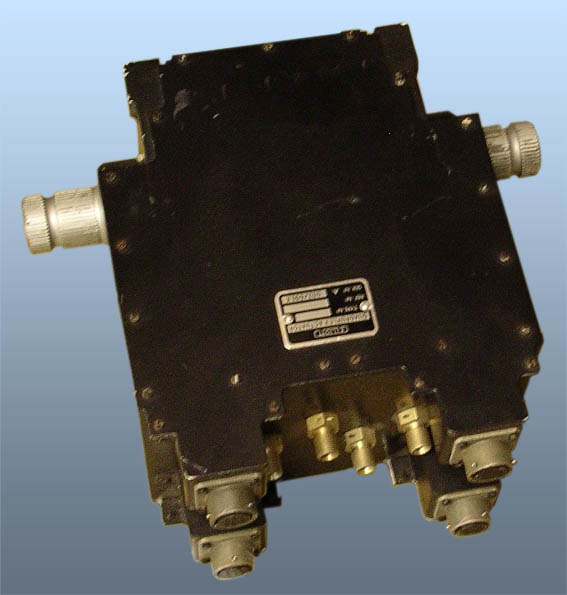 Quadruplex Hydraulic Actuator (space model)