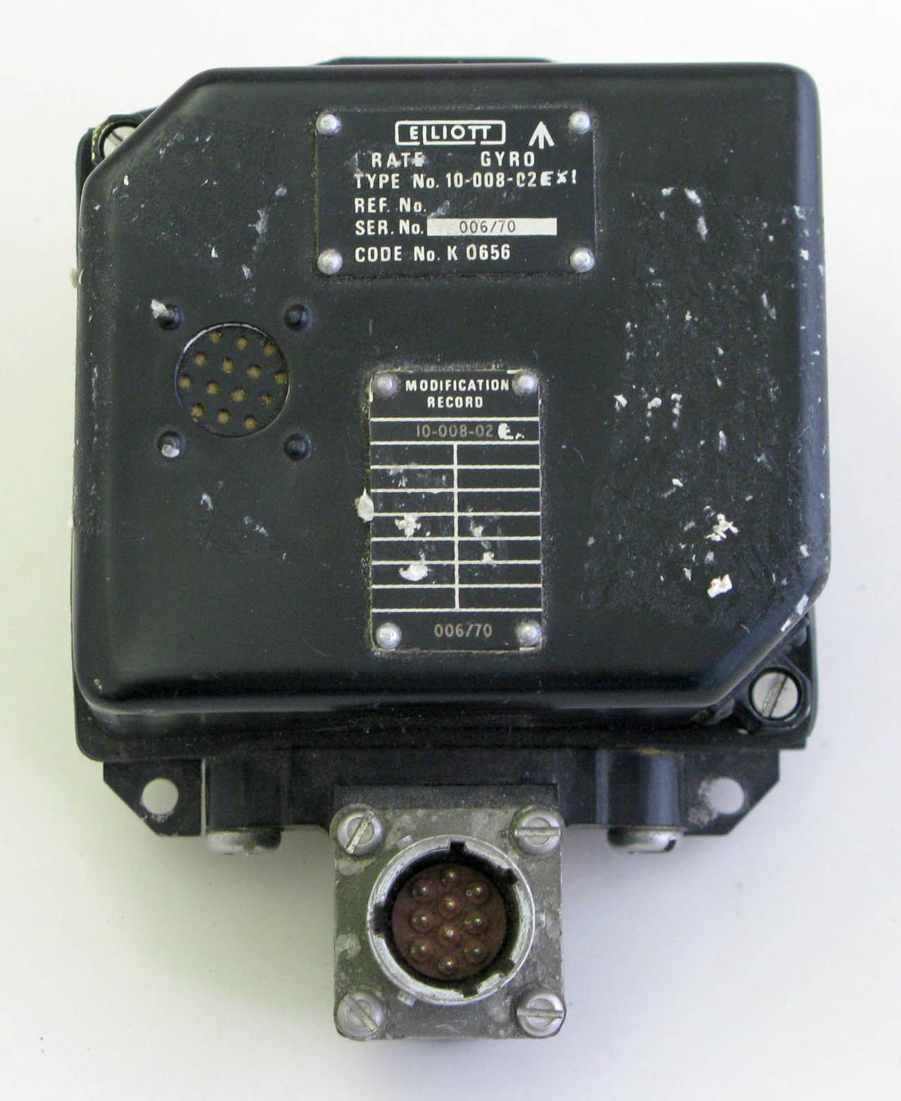 Lynx Type B Rate Gyro Unit