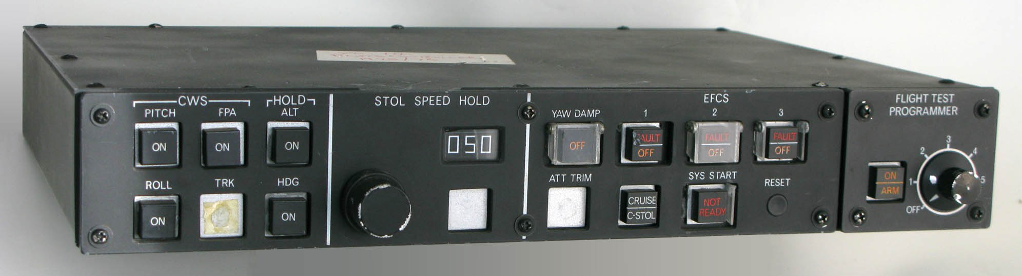 YC-14 FCS Control & Display Panel (space model)
