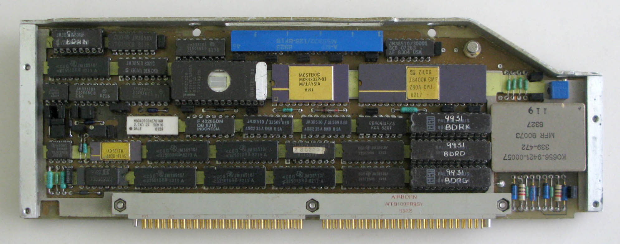 HUD PDU Display Control Card