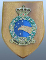 Plaque from RNLAF 306 Squadron