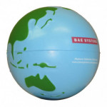 Globe Stress Ball with BAE Systems logo