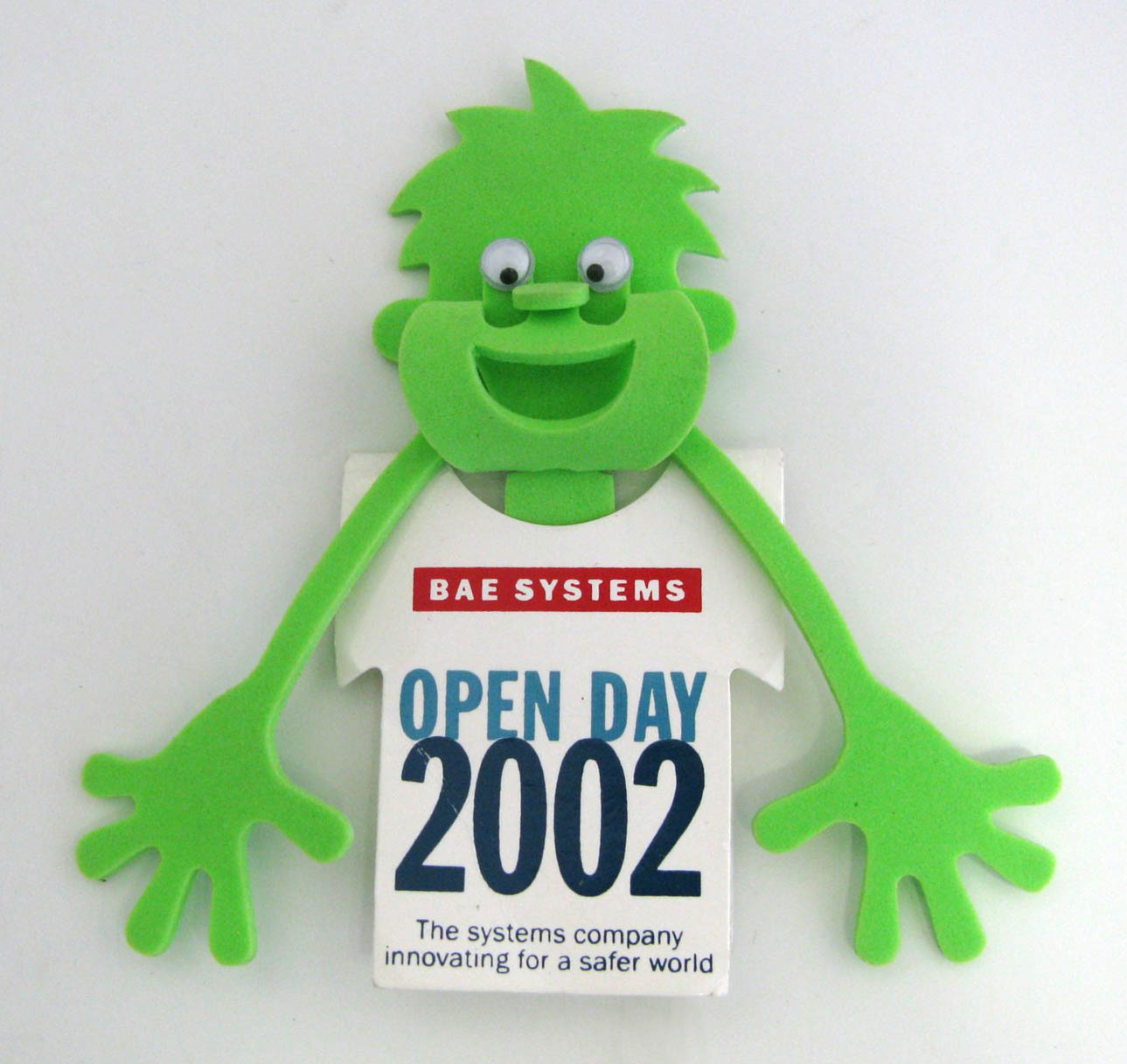 Green Man Novelty from Open Day 2002