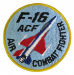 YF-16 ACF Cloth Badge