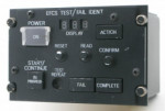 EFCS Test/Failure Identification Panel (space model)