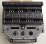 Tornado SMS Weapon Programming Unit's Front Panel
