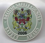 2006 Safety Award Plaque