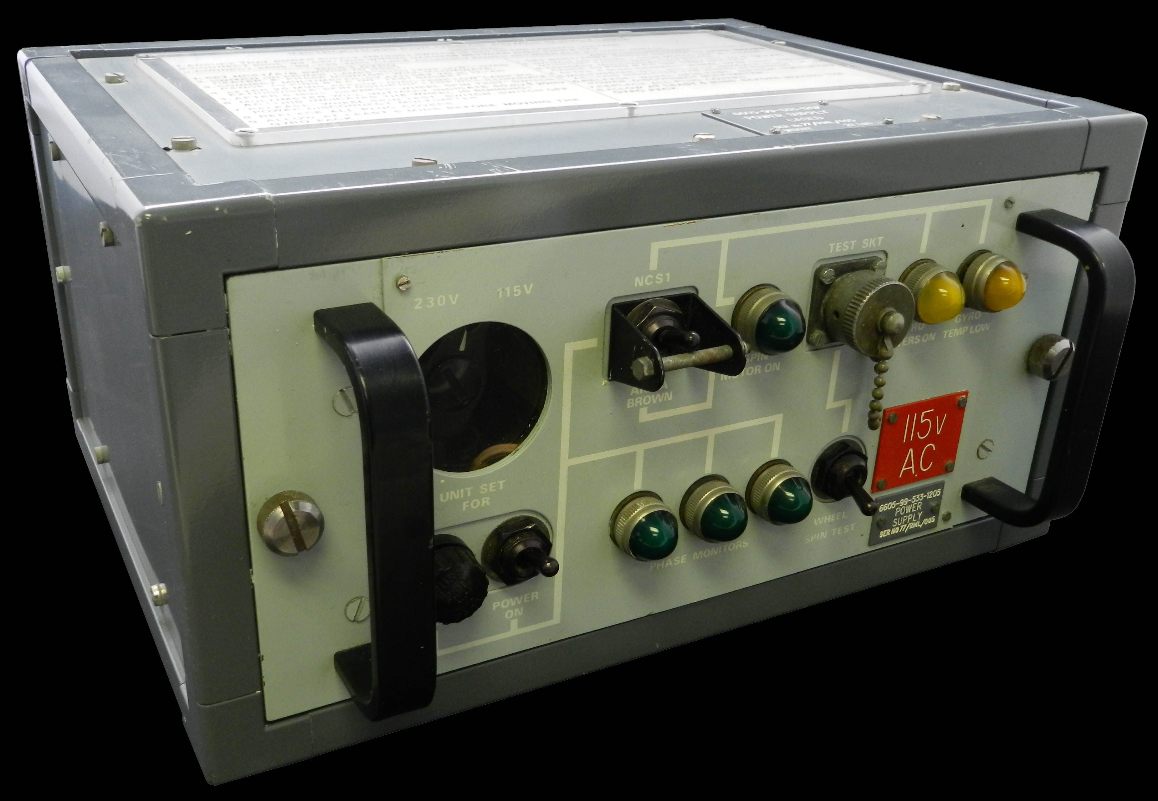 Power Supply for Gyro Tests