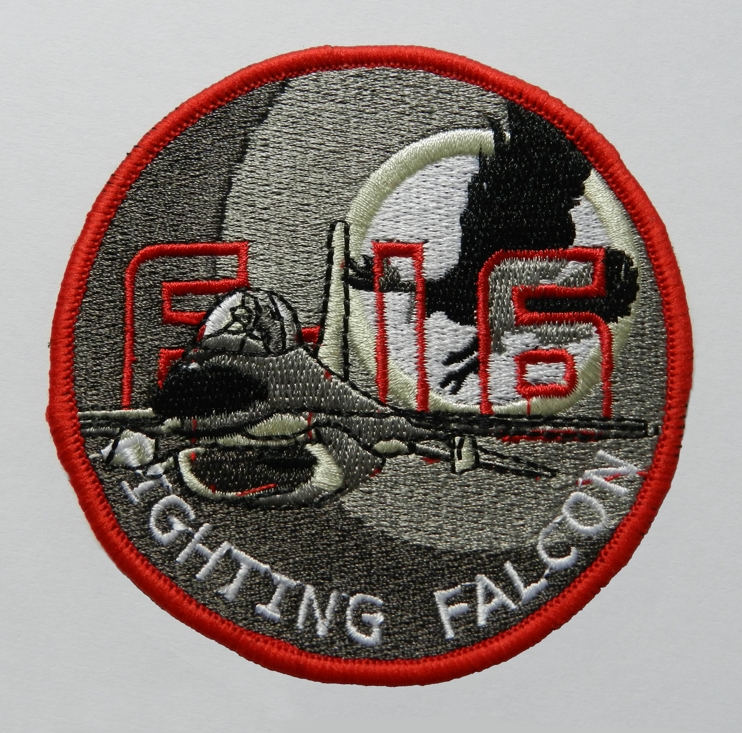 F-16 Circular Cloth Badge