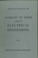 Glossary of Terms used in Electrical Engineering
