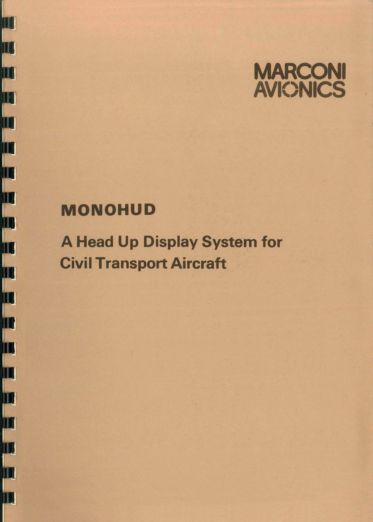 MonoHUD for Civil Transport Aircraft