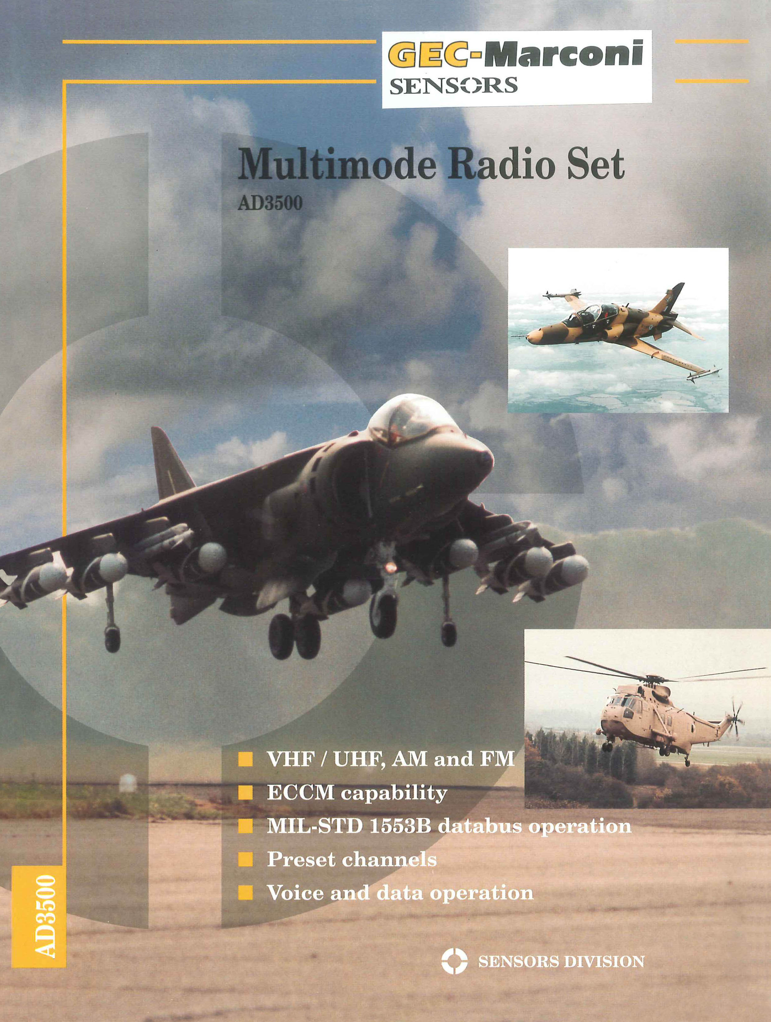 Multimode Radio Set, AD3500