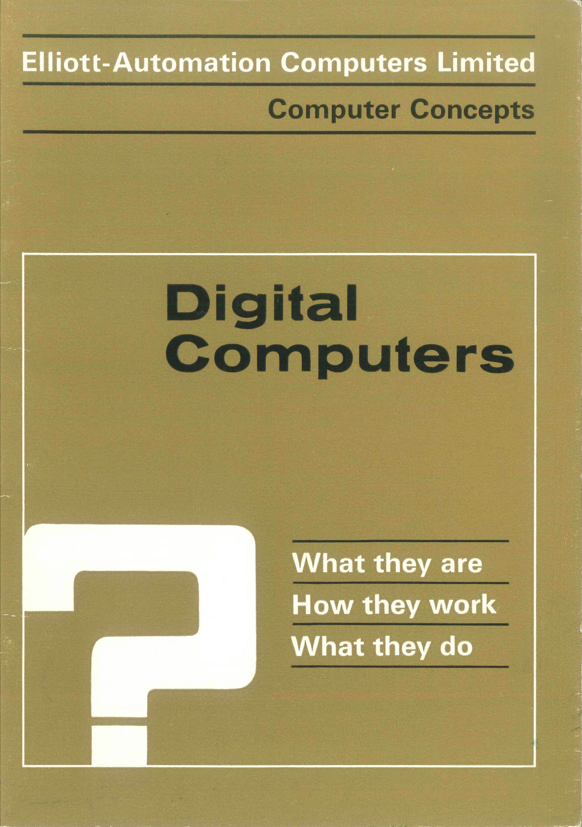 Digital Computers