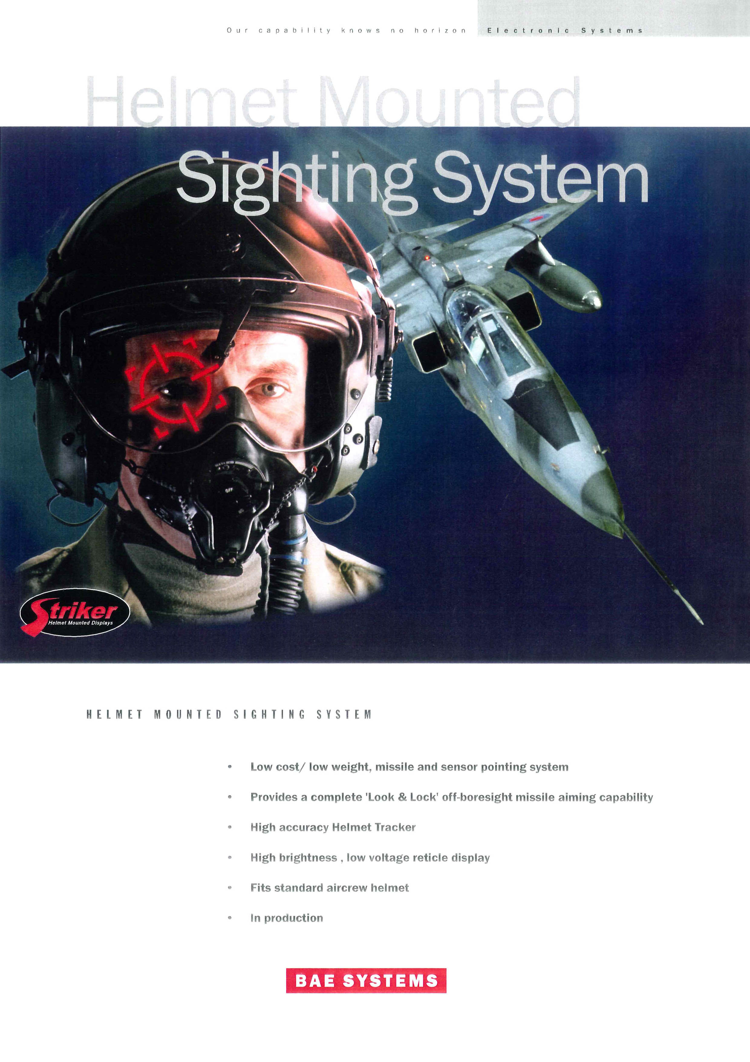 Helmet Mounted Sighting System (HMSS)
