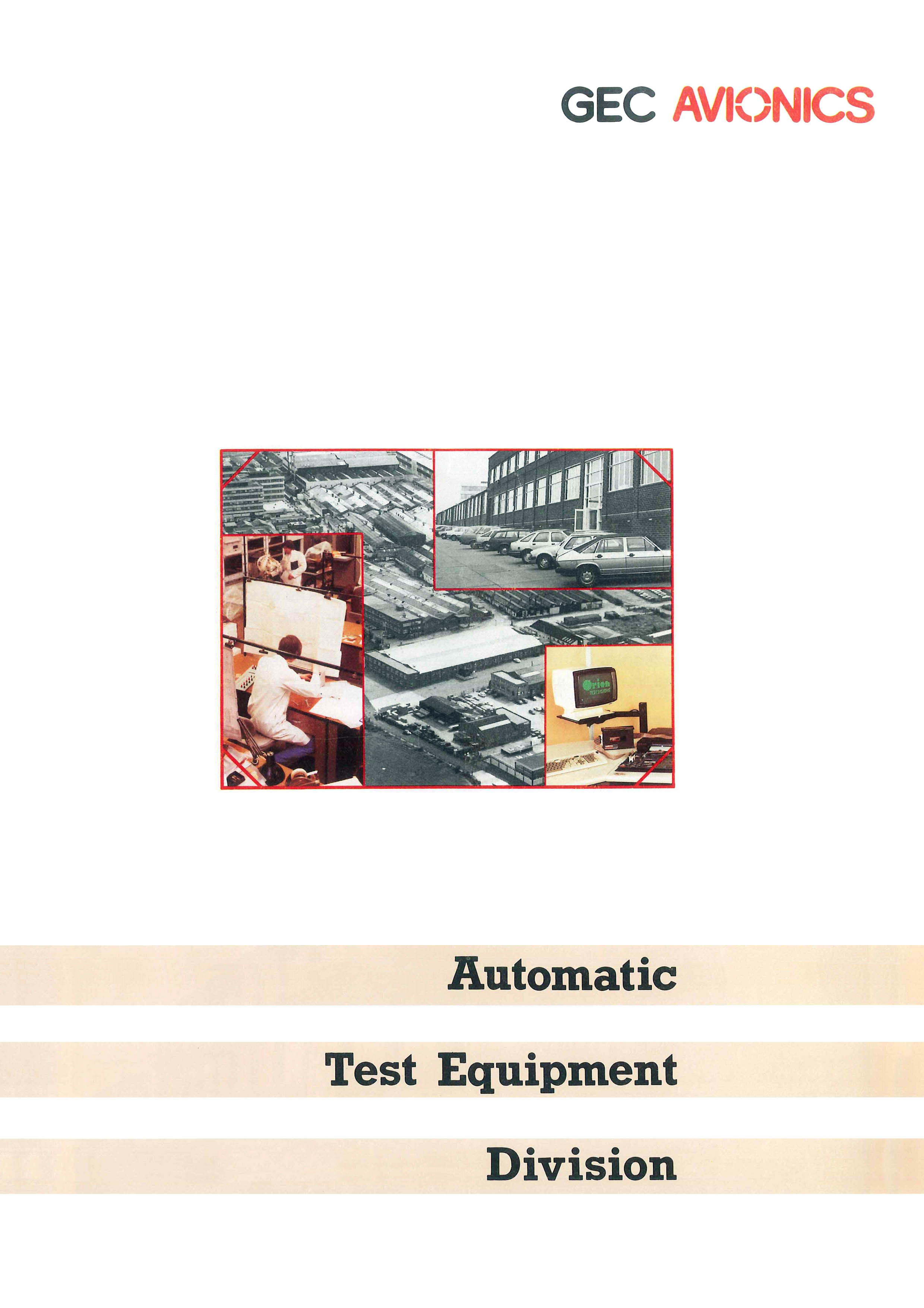 Automatic Test Equipment Division (ATED) - All Departments