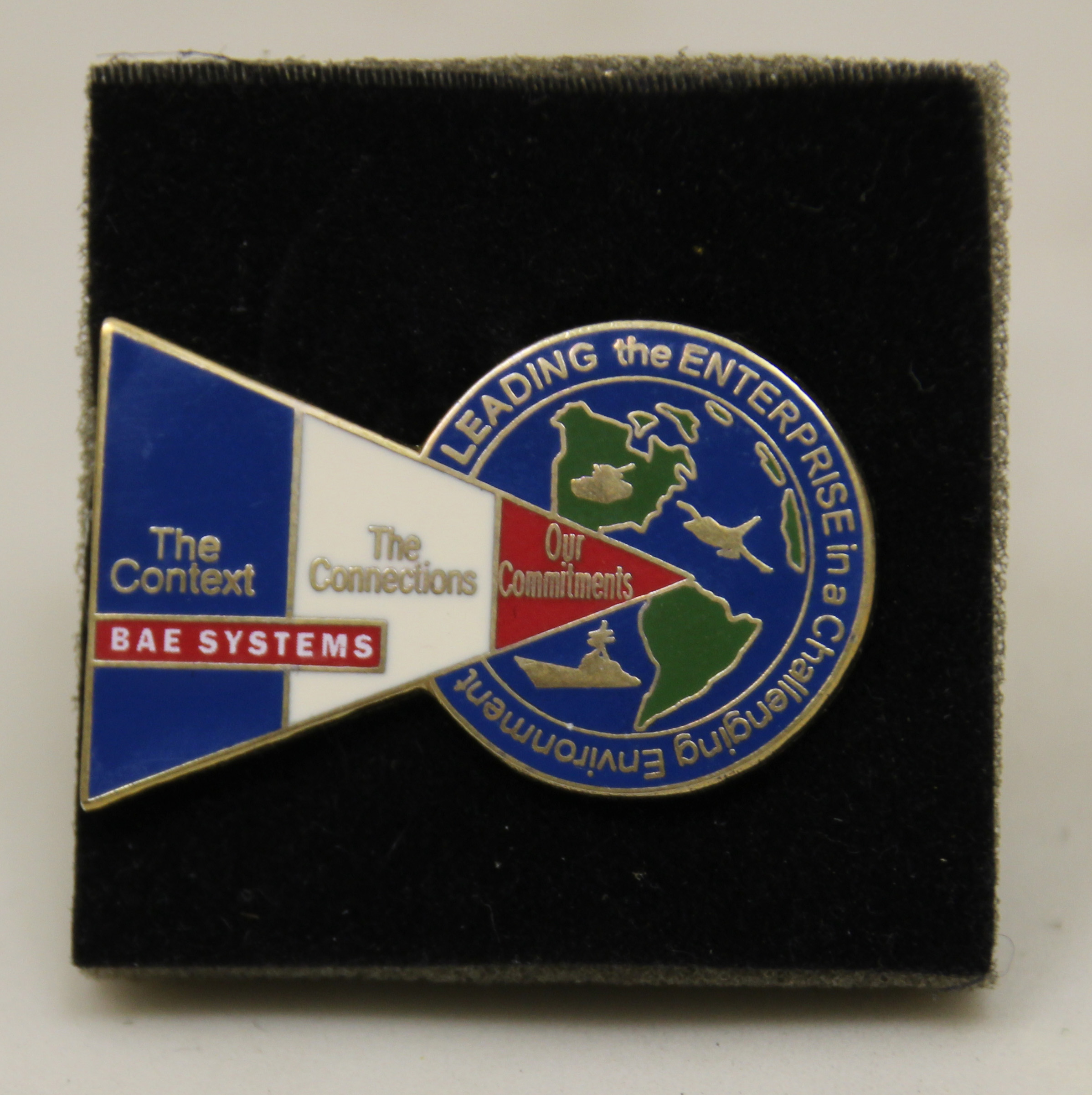 BAE Systems Badge