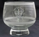 Queen's Award for Innovation Glass Bowl for 2002