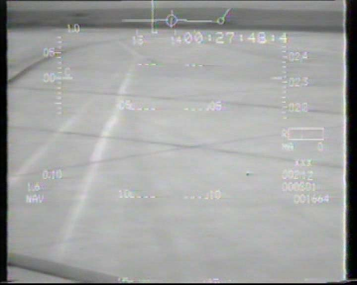 F-16-688 HUD Flight Test