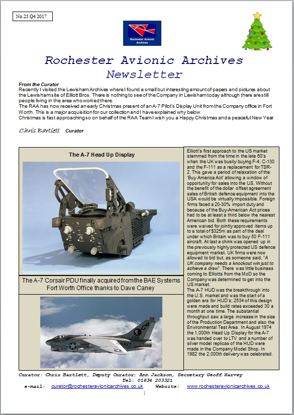 RAA Newsletter 25