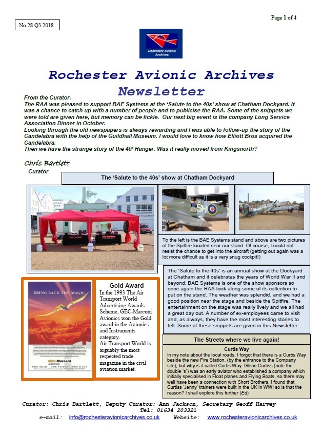 RAA Newsletter 28