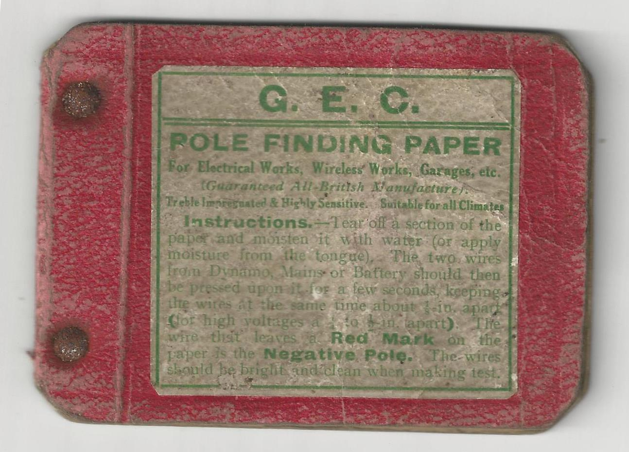 Pole Finding Paper