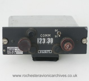 Radio Frequency Selector Control Unit