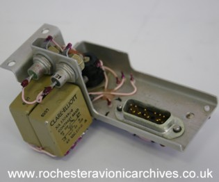Relay Module for a VC10 Longitudinal Amplifier & Computer Unit