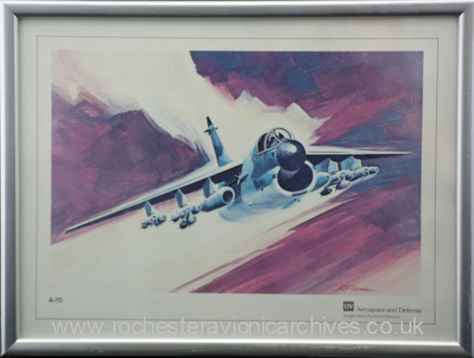 Painting of A-7 Corsair