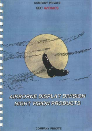 Airborne Display Division Night Vision Products