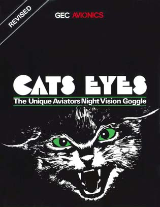 Cats Eyes™ - The Unique Aviators Night Vision Goggle (Revised)