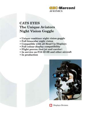 Cats Eyes™ - The Unique Aviators Night Vision Goggle
