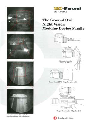 The Ground Owl™ Night Vision Modular Device Family