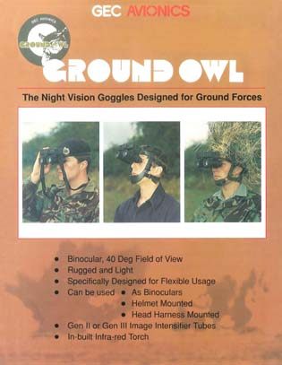 Ground Owl™ - The Night Vision Goggles Designed for Ground Forces