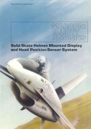 Solid State Helmet Mounted Display and Head Position Sensor System