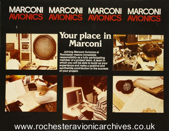 Your place in Marconi Avionics.