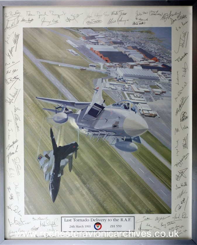 Last Tornado delivery to the RAF