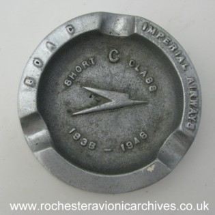 BOAC Ashtray
