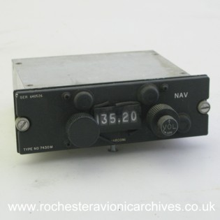 Navigation Radio Control Unit
