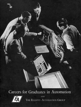 Careers for Graduates in Automation with The Elliott-Automation Group