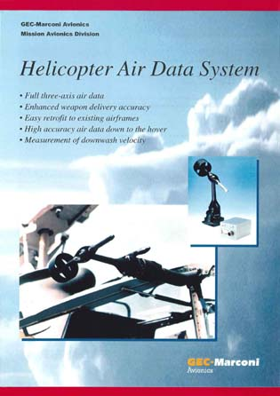 Helicopter Air Data System (HADS)