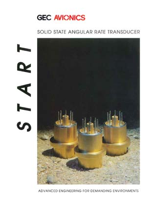 START Solid State Angular Rate Transducer